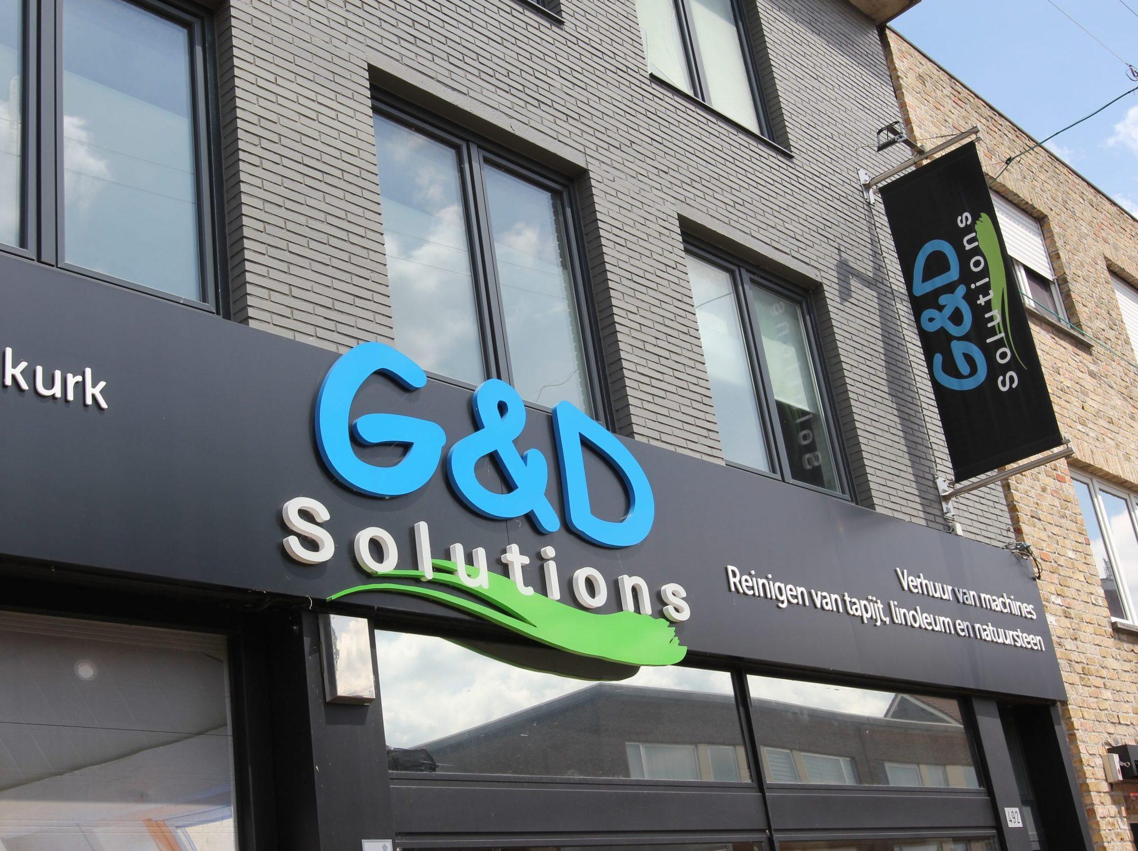 Webdesign en print voor G&D Solutions